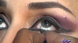 تعليم وضع المـيك آب ودروس في رسم العيون