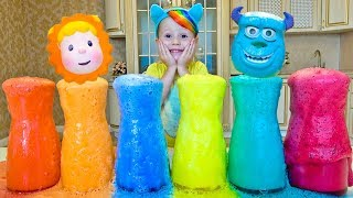 Learn Colors with colored foam Finger Family Song, Nursery Rhyme Song for kids