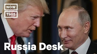 Is Trump Really Soft on Russia? | The Russia Desk | NowThis