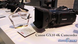 CES 2018 | Canon Vixia GX10 4K Camcorder | Dual Pixel CMOS AF | Best of CES 2018 Award