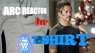 Iron man arc reactor for t-shirt