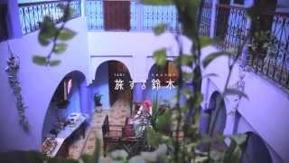 旅する鈴木399:Blue hotel in Chefchaouen @Morocco