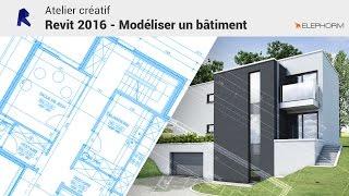Atelier créatif Revit 2016 - Modéliser un bâtiment avec Elephorm