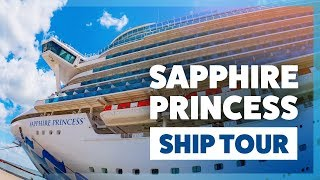Sapphire Princess refurbished ship tour