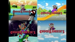 PBS Kids Chuck E. Cheese's Fundings (2007-2012)