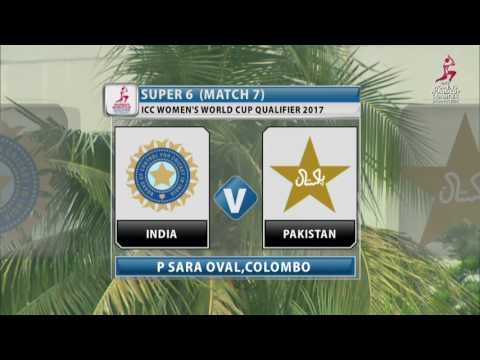 India v Pakistan, ICC Women's World Cup Qualifier, 2017