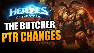 The Butcher - PTR meat changes (well salted) // Heroes of the Storm PTR