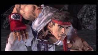 Asura's Wrath: Asura vs Ryu EPIC FIGHT