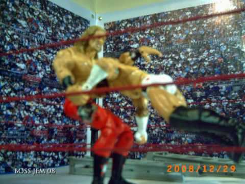 WWE Toys in Motion WTM CM Punk vs EDGE Ladder Match