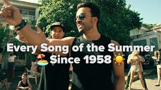 Every Song of the Summer Since 1958