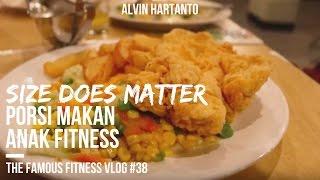 Porsi Makan Anak Fitness - #39 Vlog