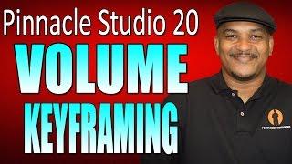 Pinnacle Studio 20 Ultimate | Volume Keyframing