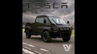 Musk talks about Tesla PIckup truck