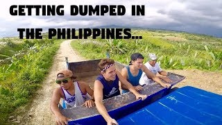 I ALMOST GOT DUMPED IN THE PHILIPPINES! (Samar, Big Waterfall)