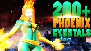 INSANE 200+ Phoenix Crystal Opening - Marvel: Contest of Champions