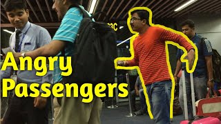 ANGRY INDIGO Passengers at KOLKATA Airport 🔥✈ | MAN Looses His TEMPER after 13 Hours Delay