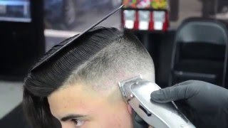 Five Star Barbershop - Undercut by Jose C. - Fontana, California