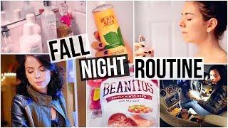 My Fall Night Routine! 2015