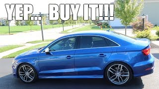 2015 Audi S3 Honest Review - It's Better Than My RS3!!!