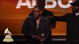 Kendrick Lamar | Best Rap Album | 58th GRAMMYs