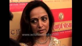 Bollywood actress Hema Malini