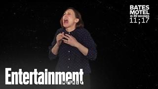 Vera Farmiga Explains 'Bates Motel' In 30 Seconds | Entertainment Weekly