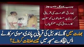 pakistan News-Bharat Main Qurbani Par Pabandi