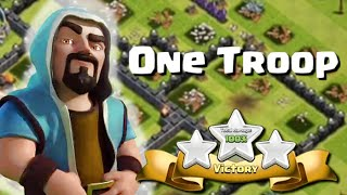 Clash of Clans | One Troop, Three Stars | Unusual Attacks of All Kinds