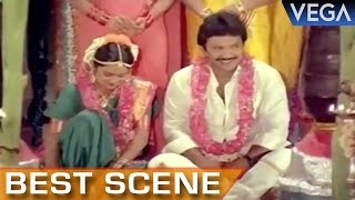 Prabhu Marriage With Radhika || Manamagale Vaa Tamil Movie || Best Scene