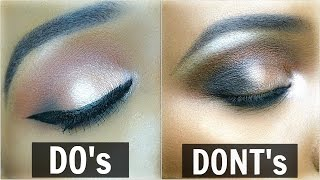 EYESHADOW DO's & DON'Ts | OMABELLETV