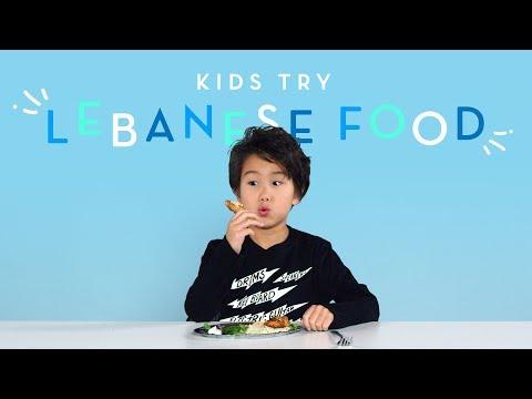 Xxx Mp4 Kids Try Lebanese Food Kids Try HiHo 3gp Sex