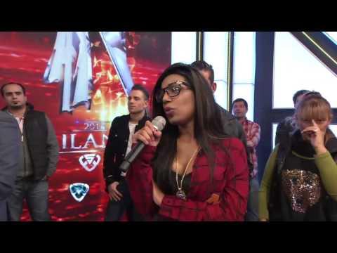 Showmatch 2014 Adagio beso y escándalo entre el Tirri Barby y Mimi