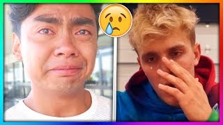 10 YouTubers Who CRIED On Camera! 😢  (Guava Juice, Jake Paul, DanTDM, jacksepticeye, Markiplier)