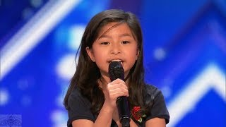 America's Got Talent 2017 Celine Tam Just the Intro & Comments S12E04