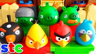 Play-Doh Angry Birds vs Chanchos Verdes - Capitulo 01
