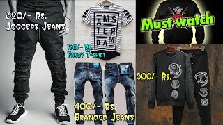 MIRA ROAD Cheap place to buy Branded Jeans, T-shirt, Shirt, joggers, (full men's outfits)