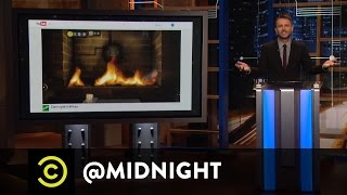Here Comes the Nintendo Switch - @midnight with Chris Hardwick