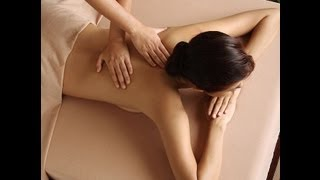 asian and japanese massage, back long