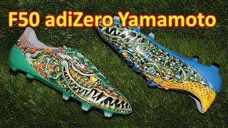 Adidas F50 adizero 2014 Y-3 Yamamoto - Review + On Feet