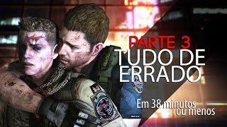 ESTÁ TUDO ERRADO COM: RESIDENT EVIL 6 - 3/8 (CHRIS)