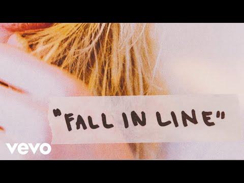 Christina Aguilera - Fall In Line (Lyric Video) ft. Demi Lovato MP3