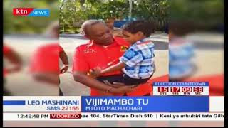 VIJIMAMBO! Mtoto machachari amchekesha rais Uhuru Mombasa kwa kumwambia mazito