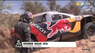 Rally Dakar 2016 - Resumen - Autos