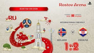 Iceland - Croatia,  FIFA 18 World Cup 2018 Russia Prediction Games (Group D)