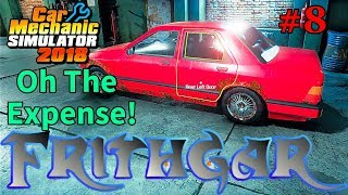Let's Play Car Mechanic 2018 #8 Very Expensive Car!