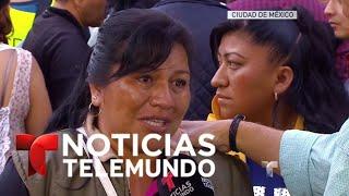 El reclamo de la familia de joven atrapado en una escuela mexicana | Noticiero | Noticias Telemundo