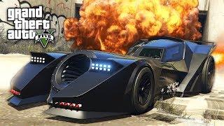 GTA 5 HALLOWEEN DLC - BATMOBILE