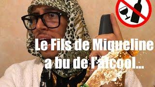 DAHK'MAN - LE FILS DE MIQUELINE A BU DE L'ALCOOL !! (+ BÊTISIER)