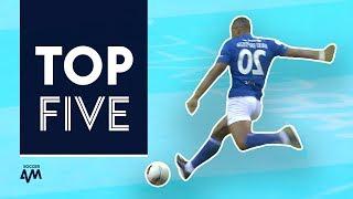 Baptista rocket! Abidal solo goal! | Top 5 Star Sixes Goals