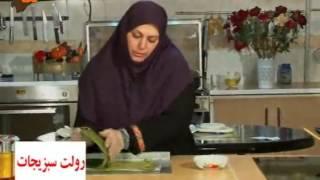 رولت سبزیجات